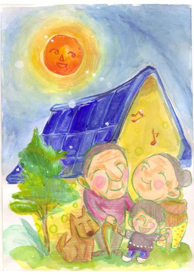 地域未来エネルギー奈良イラスト