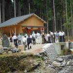 8/5 東吉野村のつくばね発電所竣功報告会に、地域未来エネルギー奈良として、出席してきました。